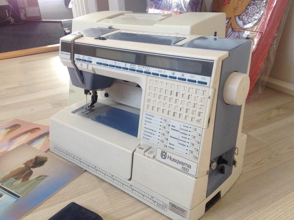 brugt pfaff symaskine